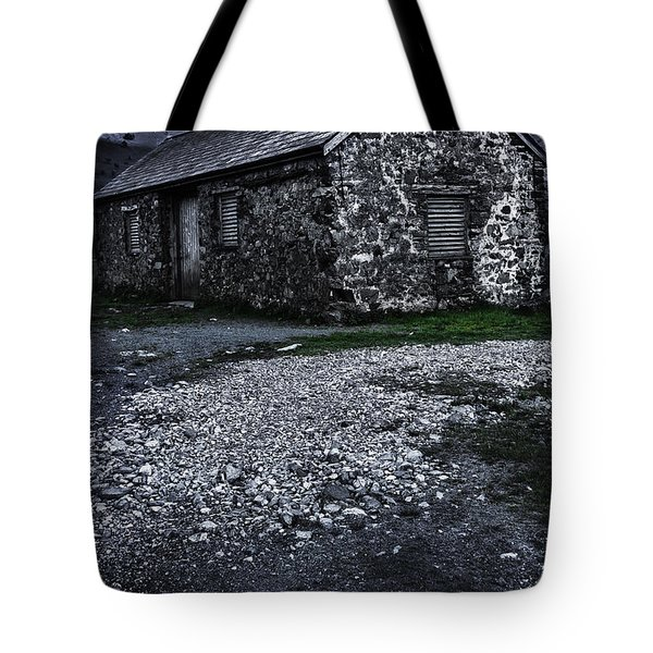 Abandoned Farm Tote Bag by Svetlana Sewell