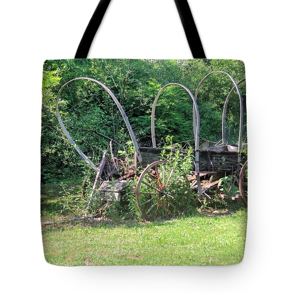 Abandoned Tote Bag by Gordon Elwell