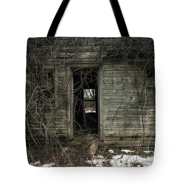 Abandoned House - Enter House on the Hill Tote Bag by Gary Heller