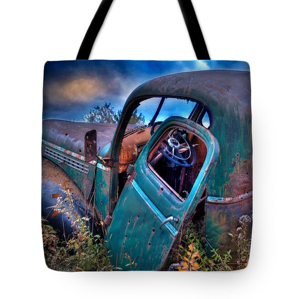 Abandoned II Tote Bag by Alana Ranney