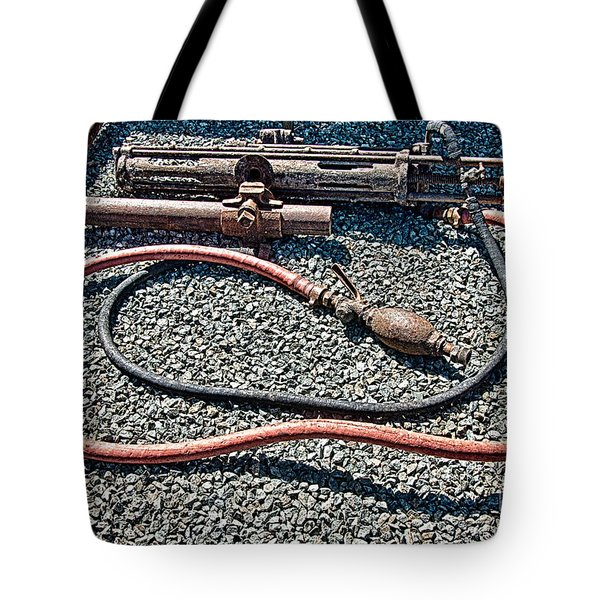 Abandoned Mine Jerome Arizona Tote Bag by Bob and Nadine Johnston