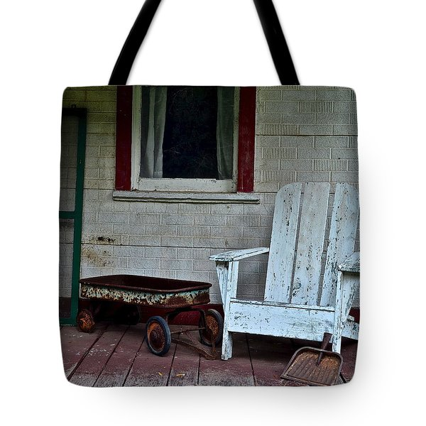 Abandoned Tote Bag by Frozen in Time Fine Art Photography