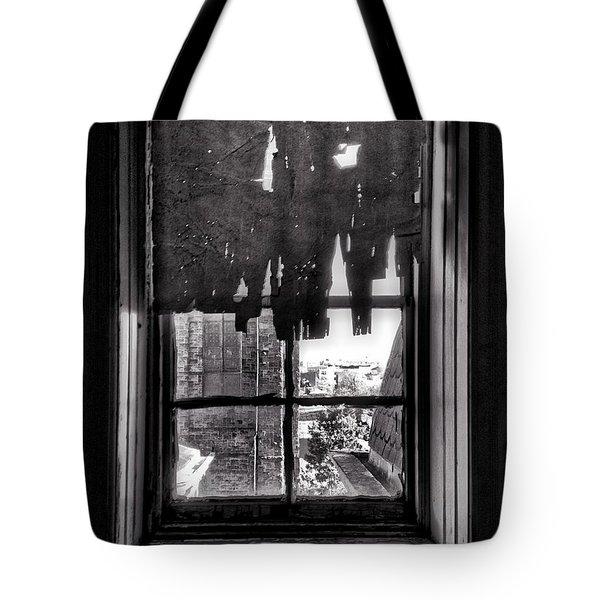 Abandoned Window Tote Bag by H James Hoff