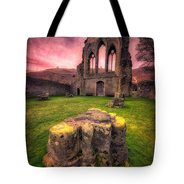 Abbey Ruin Tote Bag by Adrian Evans