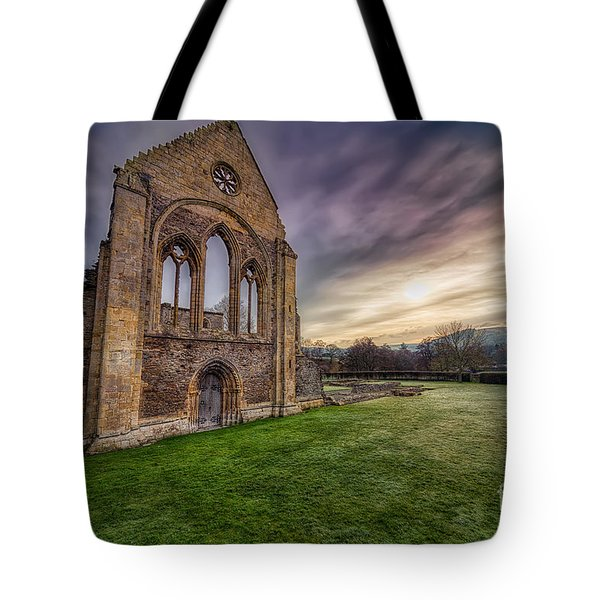 Abbey Ruins Tote Bag by Adrian Evans