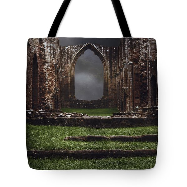 Abbey Steps Tote Bag by Amanda And Christopher Elwell
