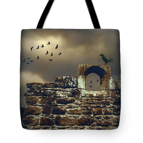 Abbey Wall Tote Bag by Amanda And Christopher Elwell