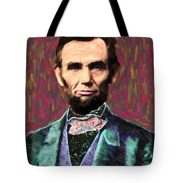 Abe 20130115 Tote Bag by Wingsdomain Art and Photography