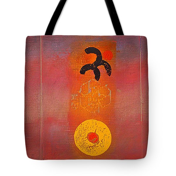 Aboriginal Dream Tote Bag by Charles Stuart