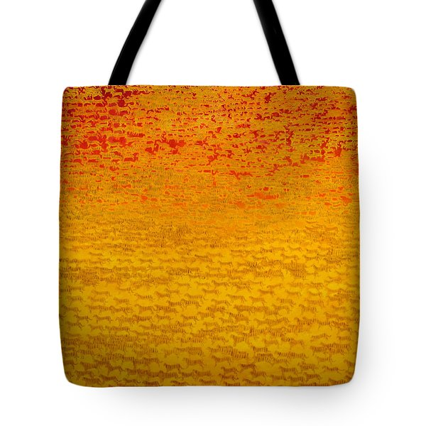 About 2500 Tigers Tote Bag by Charlie Baird