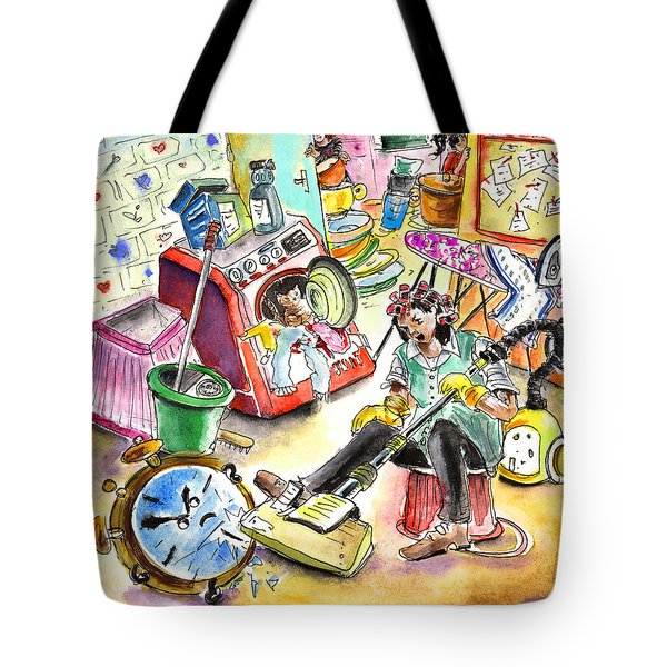 About Women And Girls 05 Tote Bag by Miki De Goodaboom
