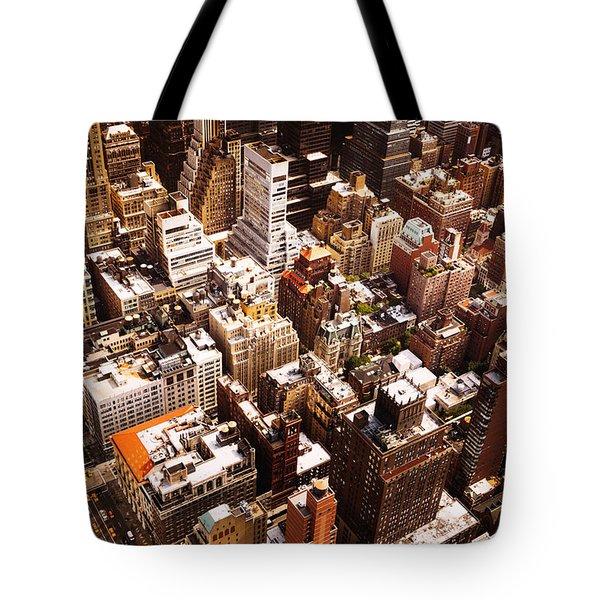 Above New York City Tote Bag by Vivienne Gucwa