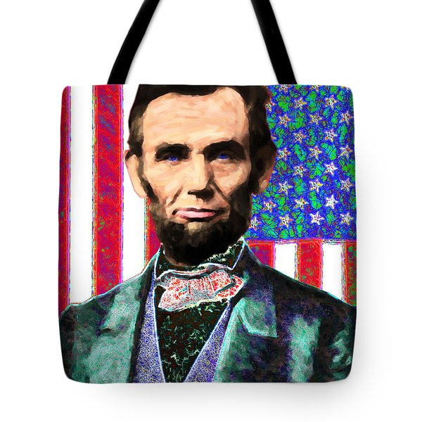 Abraham Lincoln 20130115 Tote Bag by Wingsdomain Art and Photography
