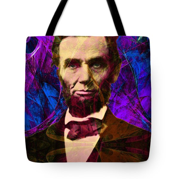 Abraham Lincoln 2014020502m118 Tote Bag by Wingsdomain Art and Photography