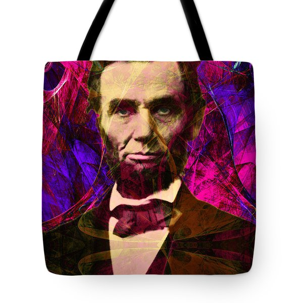 Abraham Lincoln 2014020502m68 Tote Bag by Wingsdomain Art and Photography