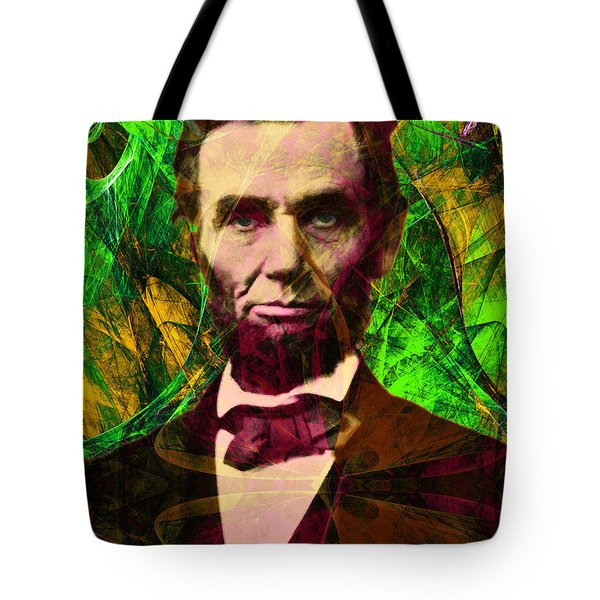Abraham Lincoln 2014020502p68 Tote Bag by Wingsdomain Art and Photography
