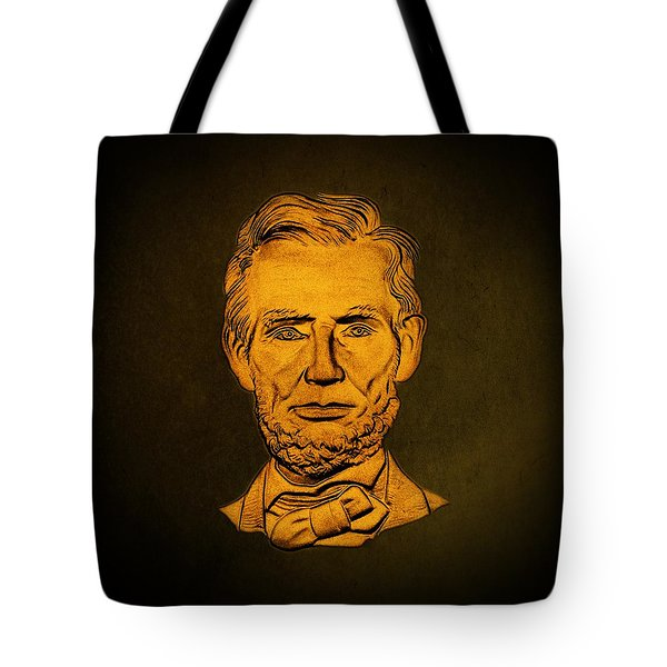 Abraham Lincoln  Tote Bag by David Dehner