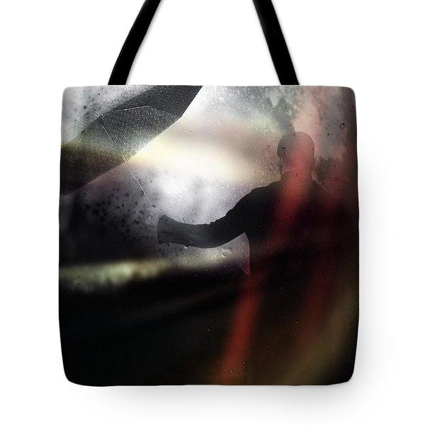 Absolute elsewhere Tote Bag by Taylan Soyturk