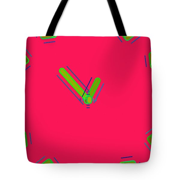 Abstract 051 Tote Bag by Victor Gladkiy