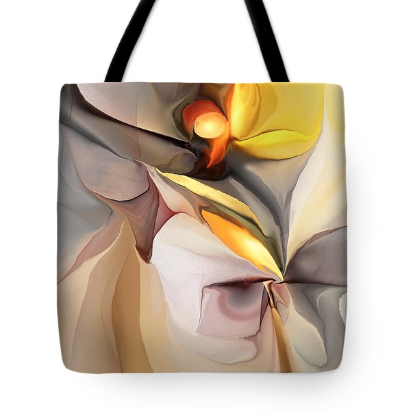 Abstract 060213 Tote Bag by David Lane