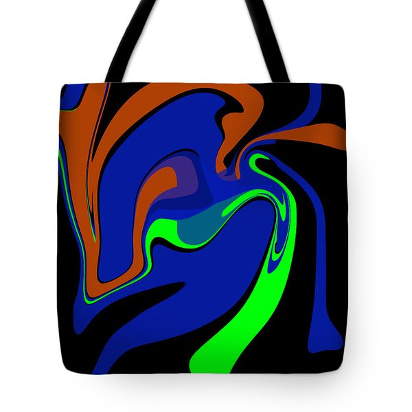 Abstract 124 Tote Bag by J D Owen