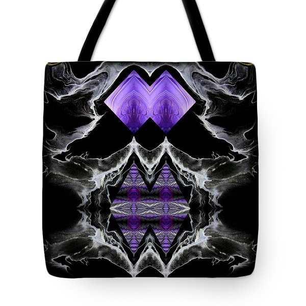 Abstract 136 Tote Bag by J D Owen