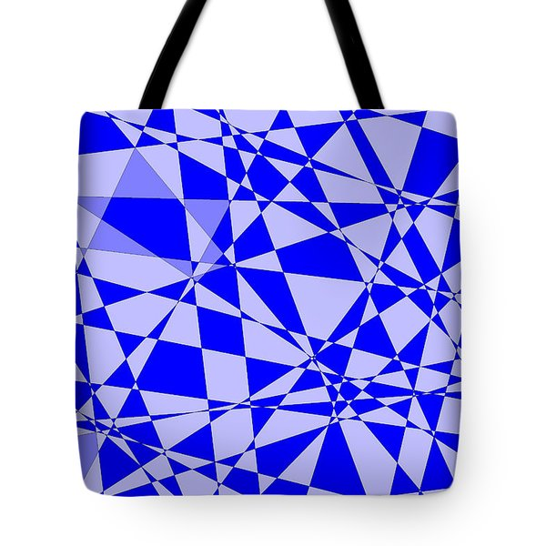 Abstract 151 Tote Bag by J D Owen