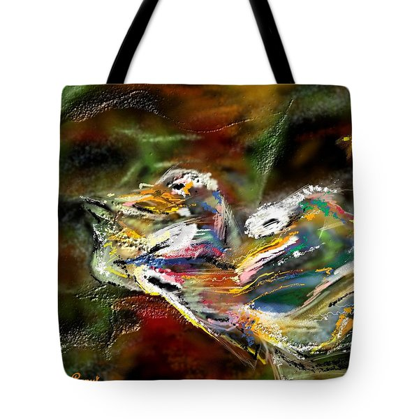 Abstract 2 Tote Bag by Francoise Dugourd-Caput