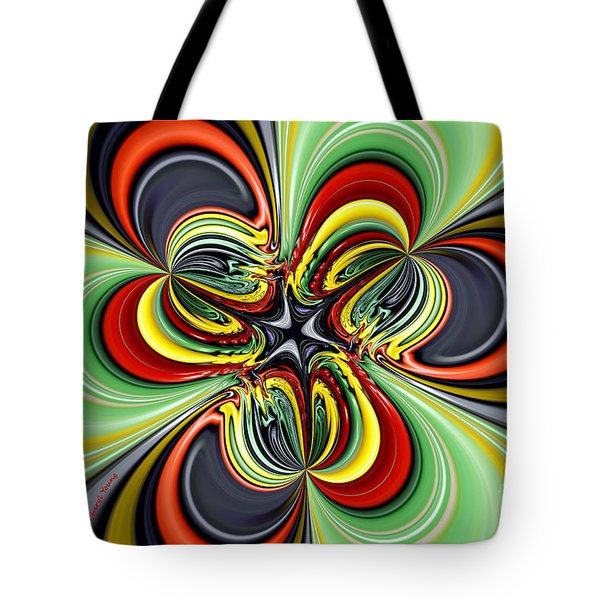 Abstract 301 Tote Bag by Cheryl Young