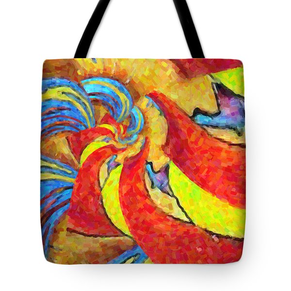 Abstract 34 Tote Bag by Kenny Francis