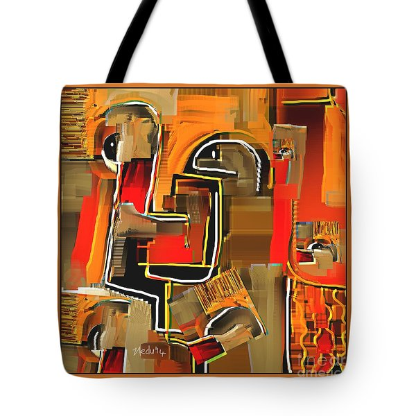 Abstract 973 Tote Bag by Nedunseralathan R