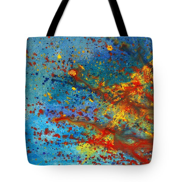 Abstract - Acrylic - Just another Monday Tote Bag by Mike Savad