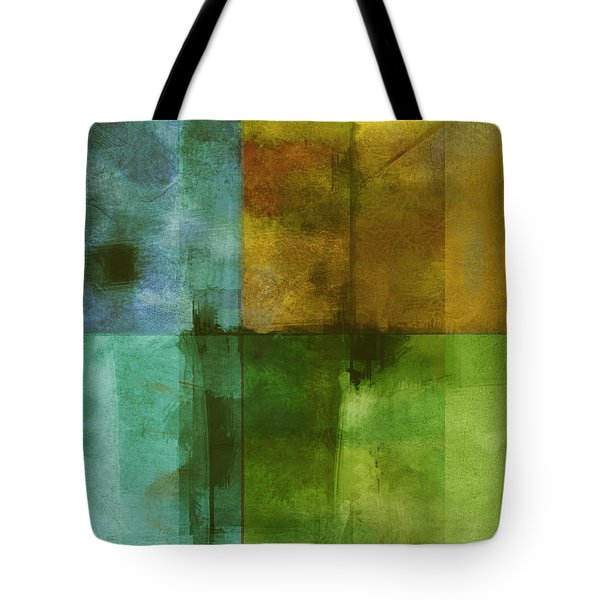 abstract - art- Color Block Rectangle  Tote Bag by Ann Powell