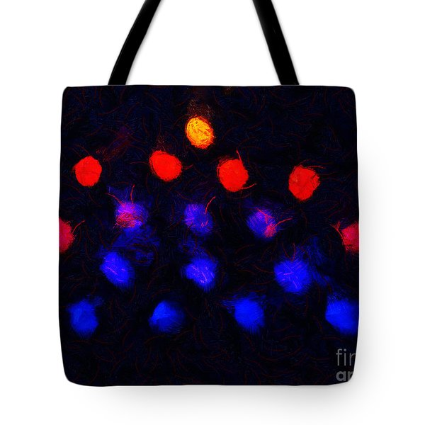 Abstract Balls #2 Tote Bag by Pixel Chimp