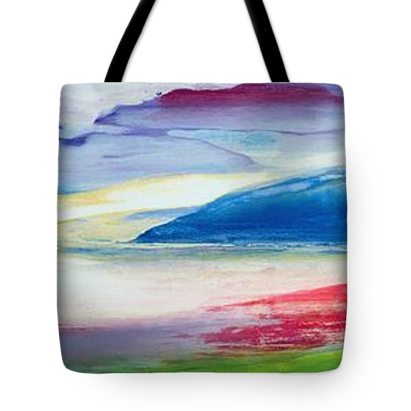 Abstract Composition Tote Bag by Lou Gibbs