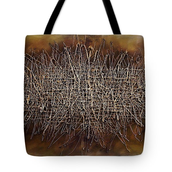 abstract design 81 Tote Bag by Michael Lang