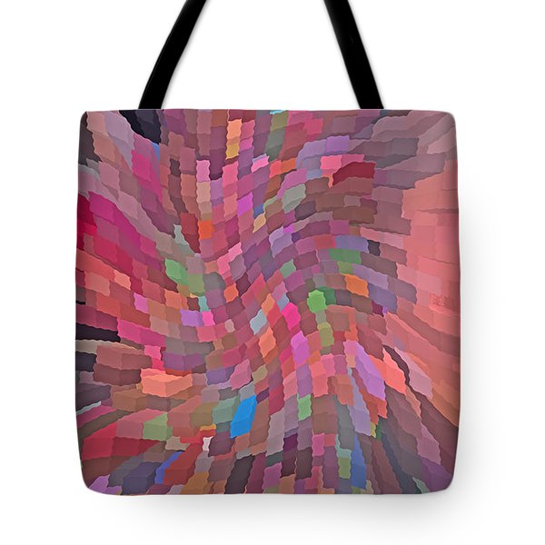 Abstract  Digital  Art Tote Bag by Carl Deaville