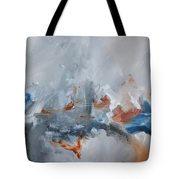 Abstract Expressionist Painting Prints Tote Bag by Andrada Anghel