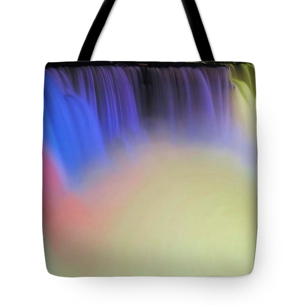 Abstract Falls Tote Bag by Kathleen Struckle