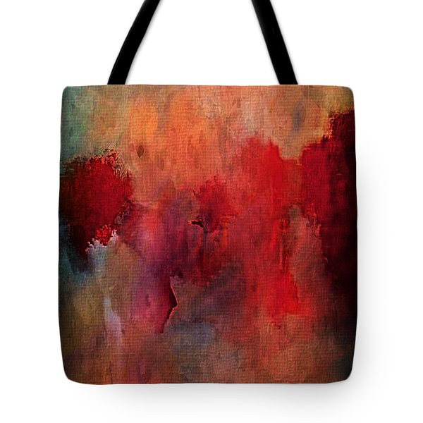 Abstract Flames Tote Bag by M and L Creations