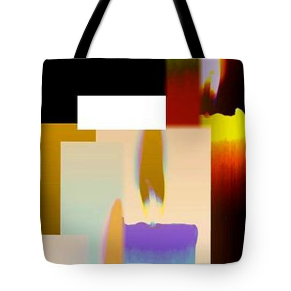 Abstract Fusion 185 Tote Bag by Will Borden