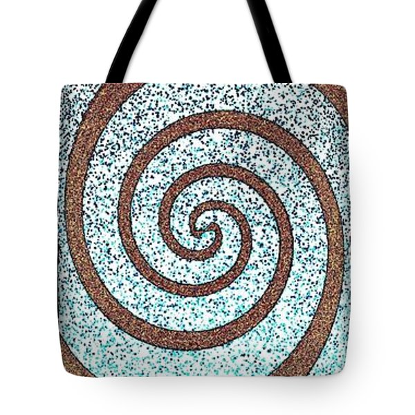 Abstract Fusion 231 Tote Bag by Will Borden