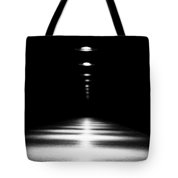 Abstract Light Tote Bag by Scott Pellegrin