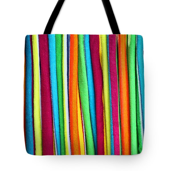 Abstract Tote Bag by Marcia Colelli