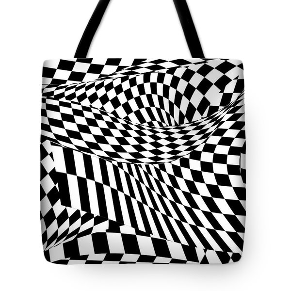 Abstract - Ow My Eyes Tote Bag by Mike Savad