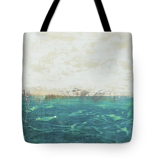 Abstract Seascape 02/14a Tote Bag by Filippo B