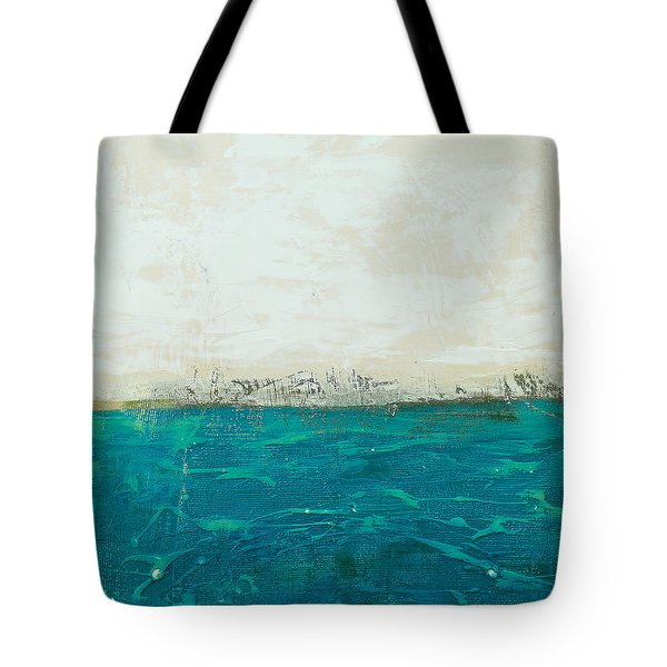 Abstract Seascape 02/14b Tote Bag by Filippo B