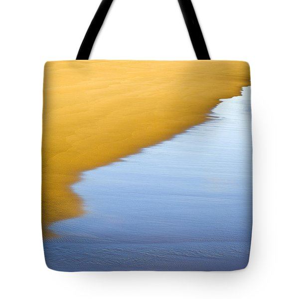 Abstract Seascape Tote Bag by Frank Tschakert