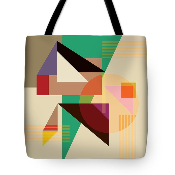 Abstract Shapes #4 Tote Bag by Gary Grayson