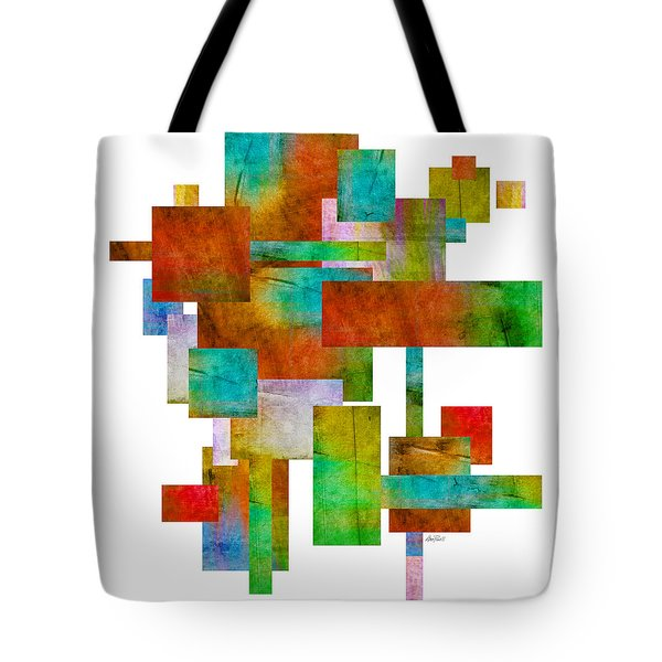 Abstract Study 21 Abstract -art Tote Bag by Ann Powell